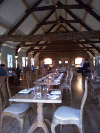 The Hayloft Dining Room