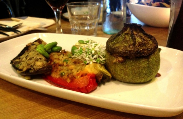Stuffed and Baked Milanese Vegetables