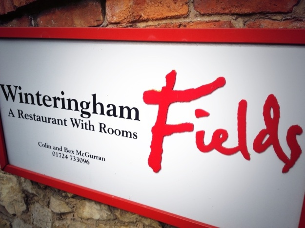 Winteringham Fields Sign