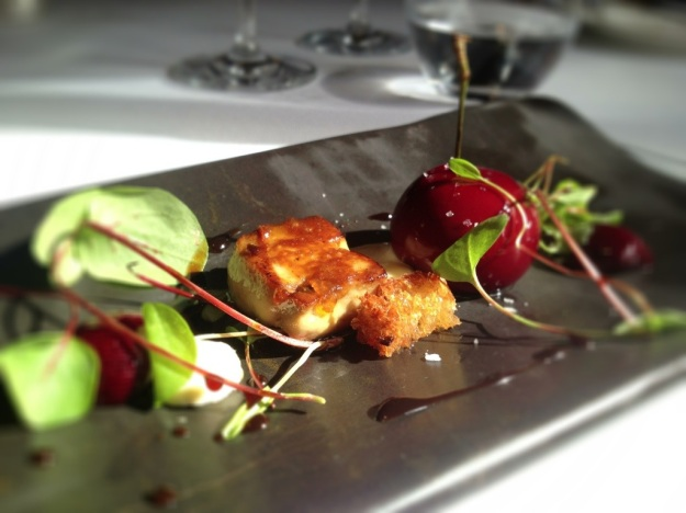 Winteringham Fields Cherry Fois Gras