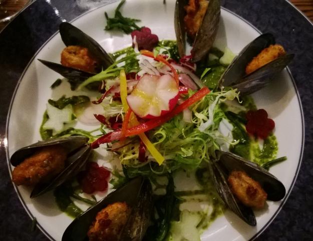 Crispy Mussels