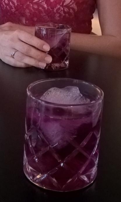 MBTC violet gin
