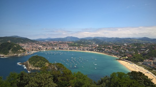 A picture of San Sebastian as my dessert pictures were particularly crap
